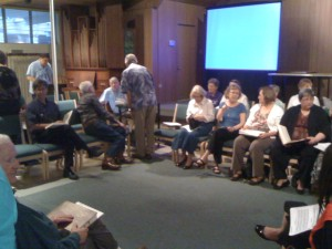 Sacred Harp, the hollow square