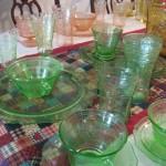Saturday Snapshot: Depression Glass
