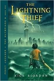 Percy Jackson Lightning Thief, Rick Riordan