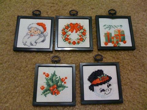 5 ornaments