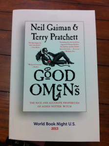 Win a copy of Neil Gaiman and Terry Pratchett's Good Omens