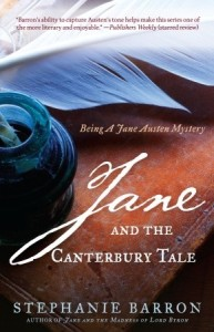 Jane and the Canterbury Tale, Stephanie Barron