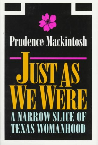 Just As We Were, Prudence Mackintosh