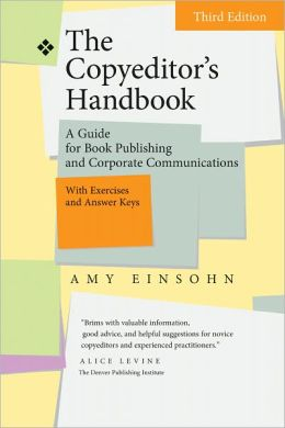 The Copyeditor's Handbook, Amy Einsohn